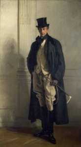 John Singer Sargent portrét lorda Ribblesdalea, 1902. Zdroj: Kniha Zlín