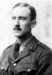 J. R. R. Tolkien v roce 1916