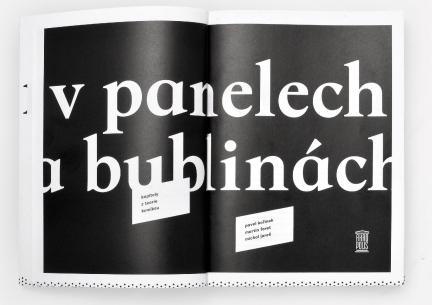 Autorem grafické úpravy V panelech a bublinách je Martin Pecina, foto: Martin Pecina