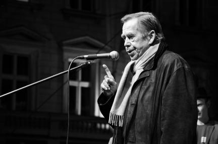 Václav Havel v roce 2009, foto: Ben Skála